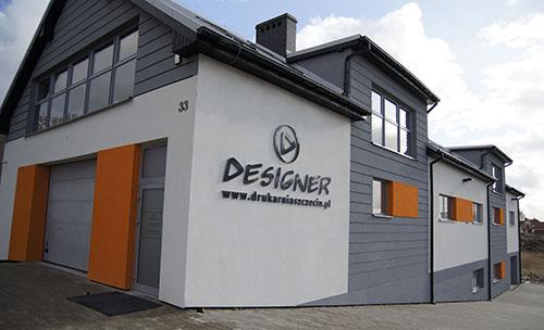 Główny budnynek Drukarni Designer