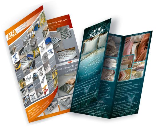 foldery reklamwe
