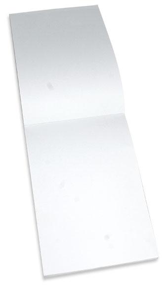 Notes firmowy z firmową okładką posiadający kartki wewnątrz bez nadruku.