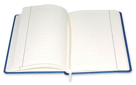 Notes na gumkę, otwarty - w linie