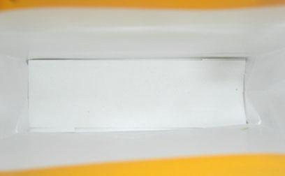 wykonczenie wnetrza torby papierowej